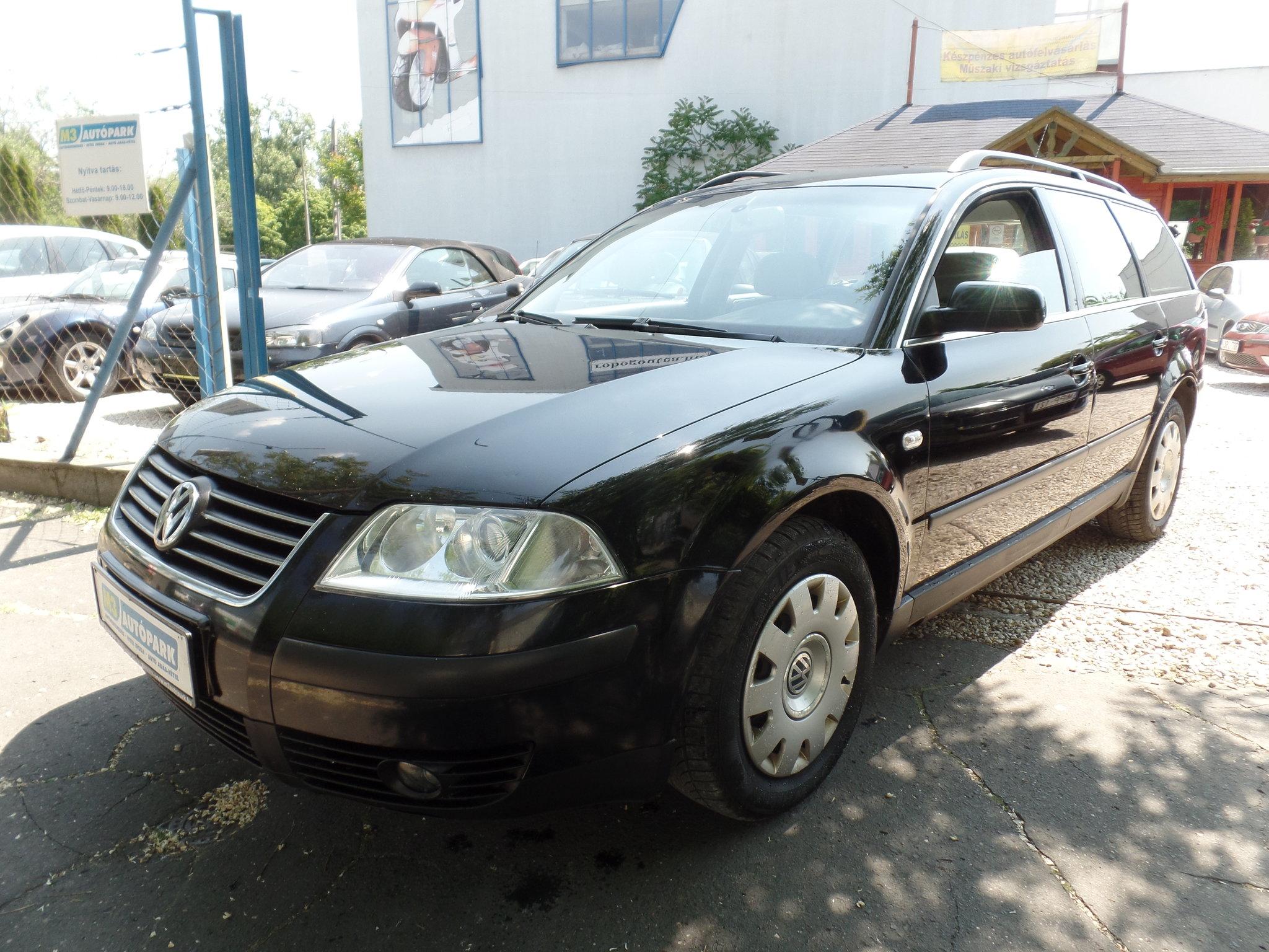 5d24fd6c5f Használtautó adás-vétel - volkswagen passat 1.9 TDI 2003 dízel –  autófelvásárlás id2751