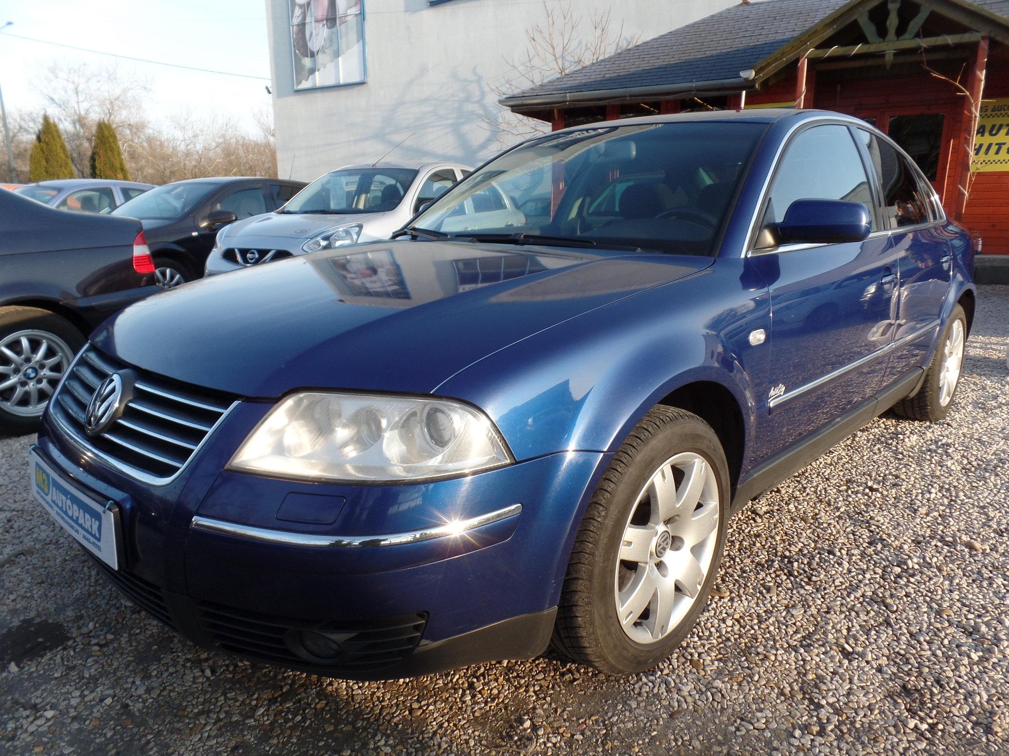 2fe18e81ea Használtautó adás-vétel - volkswagen passat 1.9 PDTDI 4x4 2003 dízel –  autófelvásárlás id3506